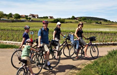 Burgundy FAMILY Bike Tour
